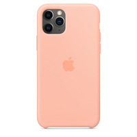 Apple Siliconenhoesje voor iPhone 11 Pro - Grapefruit - Oranje