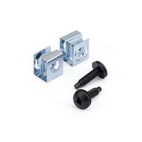 StarTech.com Vis et écrous clip 10-32 pour rack serveur - Vis de montage et écrous clip coulissants pour .....