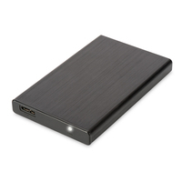 "Digitus Boîtier SSD/HDD 2,5"", SATA I-III vers USB 3.0 Boites de stockage - Noir"