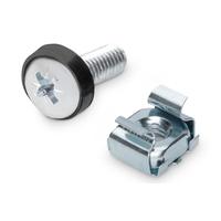 Digitus Kit de fixation pour composants de 483 mm (19 po) Vis et boulons - Argent