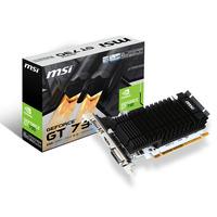 MSI PCI Express 2.0, 2GB DDR3, 902/1600 MHz, 64-bit Carte graphique - Noir