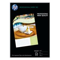 HP Papier jet d'encre mat professionnel HP d'encre Professional (100 feuilles/A4/210 x 297 mm) Papier - Blanc