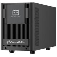 PowerWalker BP AT48T-8x9Ah - Zwart