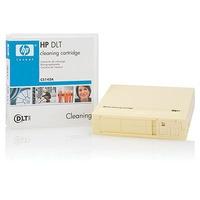 Hewlett Packard Enterprise DLT1/VS Cleaning Cartridge Reinigingstape - Zwart, Crème
