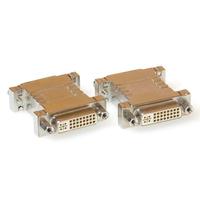 ACT Verloop adapter DVI-I dual link female naar female