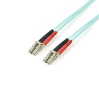 StarTech.com Câble / Jarretière fibre optique duplex multimode 50/125 OM3 de 5m - LC vers LC - LSZH - .....
