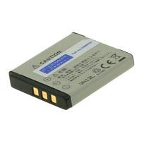 2-Power Digitale Camera Accu 3,7V 700mAh - Grijs