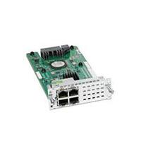 Cisco 4-port Layer 2 Gigabit Ethernet LAN Switch NIM, Spare Module de commutateur de réseau