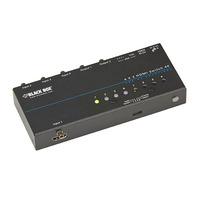 Black Box 4K HDMI - 4 x 2 Videoschakelaar - Zwart
