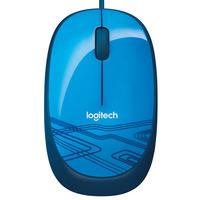Logitech M105 Computermuis - Blauw