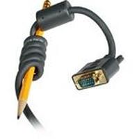 C2G 2m Flexima HD15 M/M Monitor Cable - Noir
