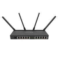 Mikrotik RB4011iGS+5HacQ2HnD-IN Router - Zwart
