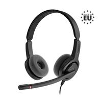 Axtel Voice UC28 duo NC Headset - Zwart