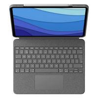 Logitech Combo Touch for iPad Pro 12.9-inch (5th generation) - QWERTY - Gris
