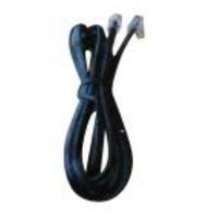 Jabra RJ-9/RJ-9, 1.5 m Telefoon kabel - Zwart