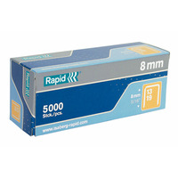 Rapid No 13 finewire staple Agraphe