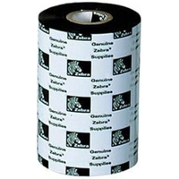 Zebra 5095 Resin Ribbon Ruban d'impression - Noir, Blanc