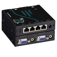 Black Box Extender et Splitter VGA Wizard Multimédia MM Rallonges AV - Noir