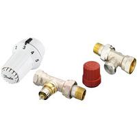 Danfoss RAS-C + RA-N + RLV-S, Sensor set - Bronze,Métallique,Rouge,Blanc