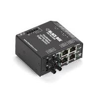 Black Box Edge Switch Ethernet durci Convertisseur réseau média - Noir