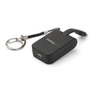 StarTech.com Adaptateur USB Type-C vers Mini DisplayPort - 4k 60 Hz - Câble incorporé - Noir