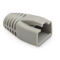 Digitus Kink Protection Sleeves, for 8P8C modular plugs solid cable with AWG 23, Color grey Kabelbeschermer - .....