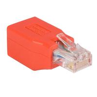 StarTech.com Adaptateur Gigabit Ethernet Cat6 vers la répartition Adaptateur de câble - Rouge