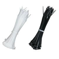 Black Box Mini Nylon Cable Ties Kabelbinder - Zwart,Transparant