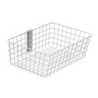 Ergotron SV Wire Basket, Large Accessoires panier multimédia - Blanc