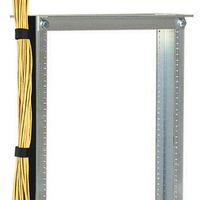 Black Box Vertical Cable Manager Rack toebehoren - Zwart, zilver