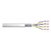 Digitus Câble d'installation à paire torsadée CAT 5e F-UTP Câble de réseau - Gris