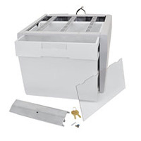 Ergotron Tiroir d'enveloppes SV43/44 Accessoires panier multimédia - Gris, Blanc