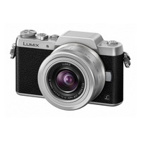 Panasonic Lumix DMC-GF7K + G VARIO 12-32mm Digitale camera - Zwart, Zilver