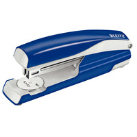 Leitz NeXXt sterke metalen full-strip Nietmachine - Blauw