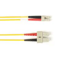 Black Box SC-LC 3.0m Câble de fibre optique - Jaune