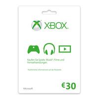 Microsoft Xbox LIVE Gift Card 30€ Cadeaubon