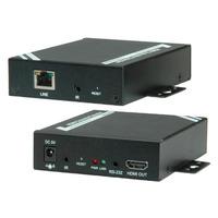 ROLINE HDMI Extender over Twisted Pair, Cat.5/6, chainable 100 m Répartiteur de câbles