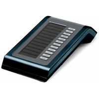 Unify OpenStage Key Module 40 Commutateur de téléphonie - Bleu, Argent