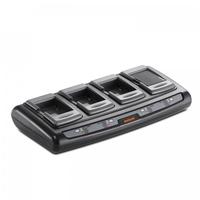Bixolon Quad Battery Charger, f/SPP-R310, SPP-R300, SPP-R400, SPP-R410 Chargeur de batterie - Noir,Gris
