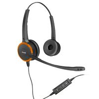 Axtel PRIME MS HD duo NC USB Casque - Noir,Orange