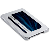 Crucial MX500 SSD - Argent