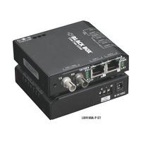 Black Box Convertisseur-switch 10/100 extrême Convertisseur réseau média - Noir
