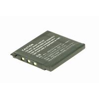 2-Power Digital Camera Battery 3.7V 600mAh - Noir