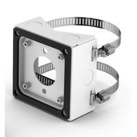 Bose Pole-mount kit, single, 105 x 105 x 48 mm, white Support de haut-parleurs - Blanc