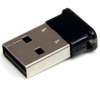 StarTech.com Mini USB Bluetooth 2.1 Adapter Klasse 1 EDR Draadloos Netwerkadapter Netwerkkaart - Zwart