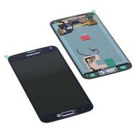 Samsung SM-G900F Galaxy S5, Complete Display LCD+Touchscreen, black Pièces de rechange de téléphones mobiles