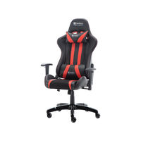 Sandberg Commander Gaming Chair Blk/Red Chaise