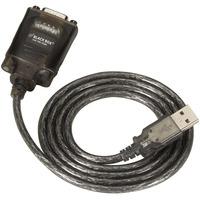 Black Box USB Solo, DB9 USB kabel - Zwart