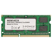 2-Power 4GB DDR3 1866MHZ SODIMM Memory Mémoire RAM