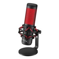 HyperX QuadCast Microphone - Noir,Rouge